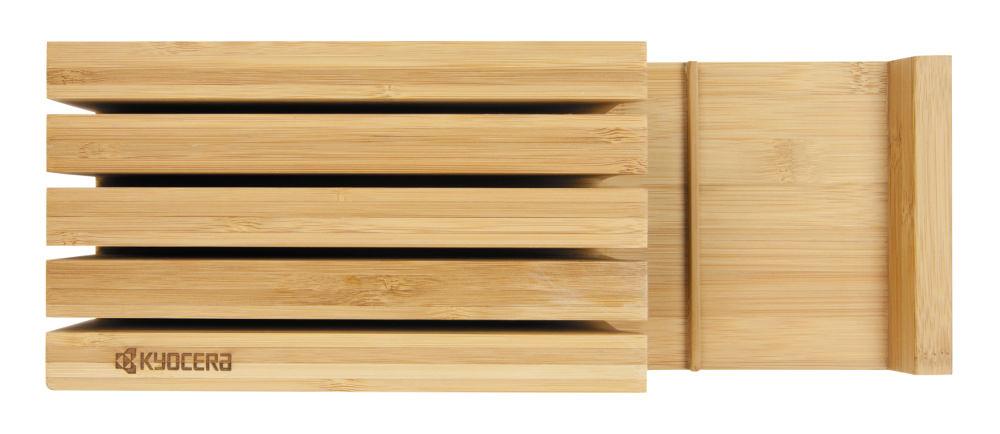 Kyocera Bambus Messerblock leer